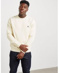 PS by Paul Smith - Mens Zebra Crew Sweatshirt Cream - Lyst