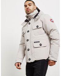 Canada Goose - Mens Selkirk Padded Jacket Grey - Lyst
