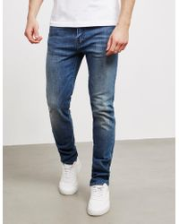 Edwin - Mens Ed80 Red List Slim Tapered Jeans Blue - Lyst
