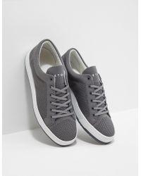 ETQ Amsterdam Knit Sneakers Gray
