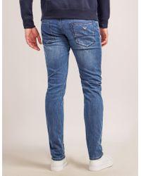 Armani Jeans - J06 Slim Fit Jeans - Long - Lyst