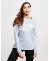 Barbour - Pitch Sweatshirt Blue - Lyst