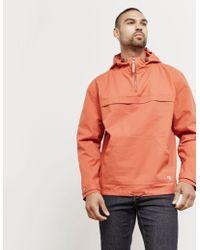Armor Lux - Mens Smock Jacket Orange - Lyst