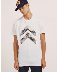 DSquared² - Mens Twin Arrow Short Sleeve T-shirt White - Lyst