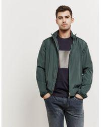 Z Zegna - Nylon Zip Through Jacket - Online Exclusive Green - Lyst