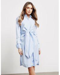 BOSS - Womens Cooli Blouse Dress Blue - Lyst