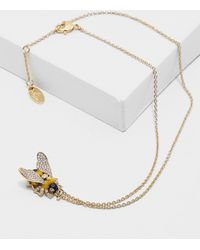Vivienne Westwood | Womens Bumble Bee Necklace Gold | Lyst