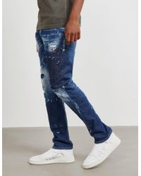 DSquared² - Mens Classic Kenny Slim Jeans - Online Exclusive Blue - Lyst