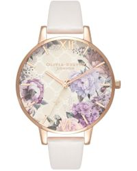 Olivia Burton - Glasshouse Midi Dial Watch - Lyst