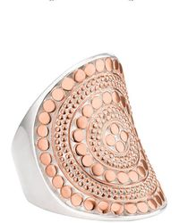 Anna Beck - Beaded Saddle Ring - Lyst