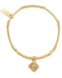 ChloBo - Ariella Love Coin Bracelet - Lyst
