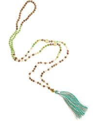 Tribe + Fable - Single Tassel Necklace - Lyst