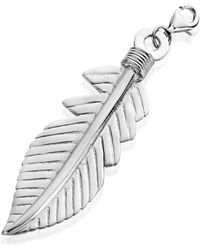 ChloBo | Xl Feather Pendant | Lyst