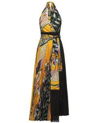 Beatrice B. - Halter Pleated Dress - Lyst