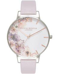 Olivia Burton - Watercolour Florals Watch - Lyst