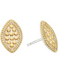Anna Beck - Marquise Stud Earrings - Lyst