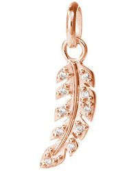 Kirstin Ash - Bespoke Crystal Feather Charm - Lyst