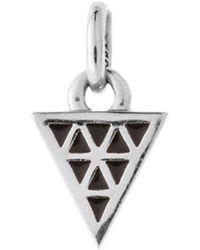 Kirstin Ash - Bespoke Black Enamel Triangle Charm - Lyst