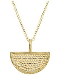 Anna Beck - Half Moon Divided Necklace - Lyst