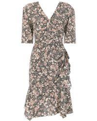 Isabel Marant - Abstract Print Dress - Lyst