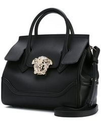 29ebf09b71f0 Lyst - Versace Palazzo Medusa Shoulder Bag in Black