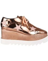 Stella McCartney - Elyse Lace-up Shoes - Lyst