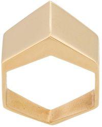 FEDERICA TOSI - Rectangular Shaped Ring - Lyst
