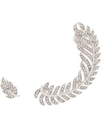 FEDERICA TOSI - Leaf Stud And Leaf Ear Cuff - Lyst