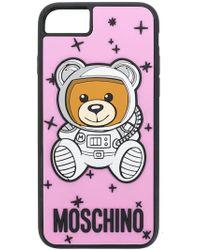 Moschino - Astronaut Teddy Iphone 8 Case - Lyst