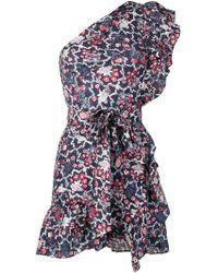 Étoile Isabel Marant - Ruffled Mini Dress - Lyst