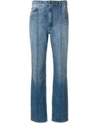 Amazon Sale Online All Seasons Available Maison Margiela stripe detail straight leg jeans P8G8dmC8A