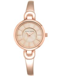 Anne Klein - Womens Analog Fashion Semi-bangle Watch - Lyst