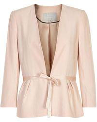 Inwear - Base Tie-front Blazer - Lyst