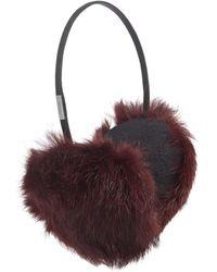 Pajar - Mica Rabbit Fur Earmuffs - Lyst
