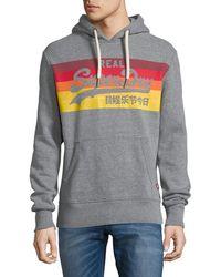 Superdry | Vintage Logo Cali Striped Hoodie | Lyst