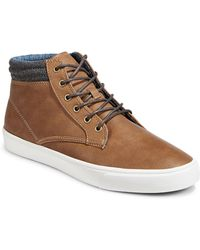 1670 - Round Toe Sneaker Boots - Lyst