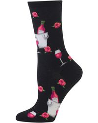 Hot Sox | Rose Wine Crew Socks | Lyst
