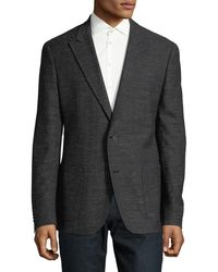 HUGO - August Wool-blend Sport Jacket - Lyst