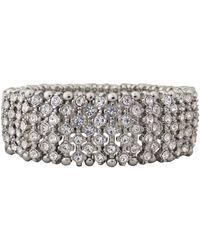 Cezanne - Crystal Stretch Bracelet - Lyst