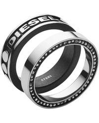 DIESEL - Heren Ring Dx1170040 - Lyst