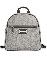 CALVIN KLEIN 205W39NYC - Monogram Backpack - Lyst