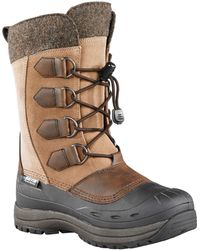 Baffin - Drift Kara Leather Suede And Felt Boots - Lyst