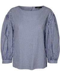 Vero Moda | Minnie Striped Cotton Top | Lyst