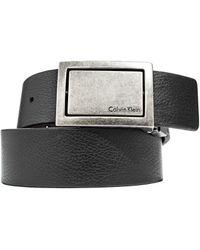 CALVIN KLEIN 205W39NYC - Reversible Plaque Belt - Lyst