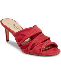 424 Fifth | Gala Leather Sandals | Lyst