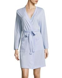 Lord & Taylor | Self-tie Cotton Robe | Lyst