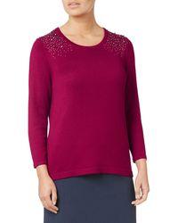 Eastex - Studded Sweater - Lyst