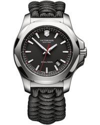 Victorinox | I.n.o.x. Paracord Stainless Steel Strap Watch | Lyst