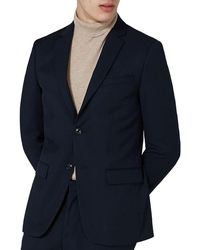 TOPMAN - Slim Fit Textured Suit Jacket - Lyst