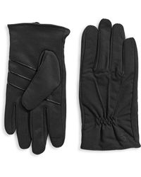 Polo Ralph Lauren - Ruched Touch Gloves - Lyst